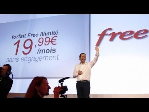 France : l'offre mobile de Free casse les prix