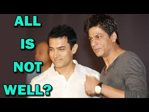 Shahrukh Khan and Aamir Khan - All is not well? | Bollywood...