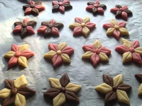 "Gâteaux Secs ""Rose"" Chocolat-Vanille"