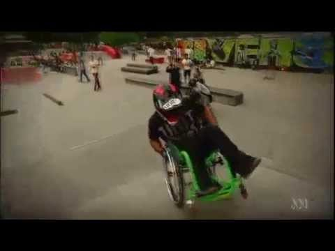 ABC Australia, WCMX (Chairskating) taking over!
