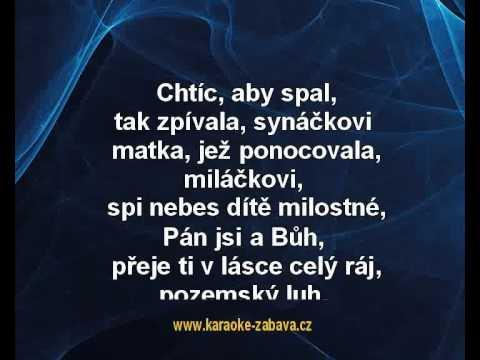 Karaoke Klip Chtíc, Aby Spal - Koleda
