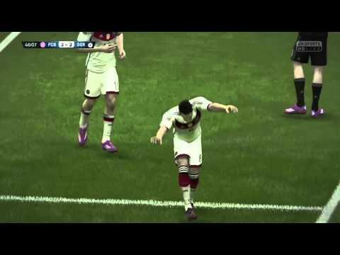 Mesut Özil solo goal Vs FC Bayern Munich #FIFA15