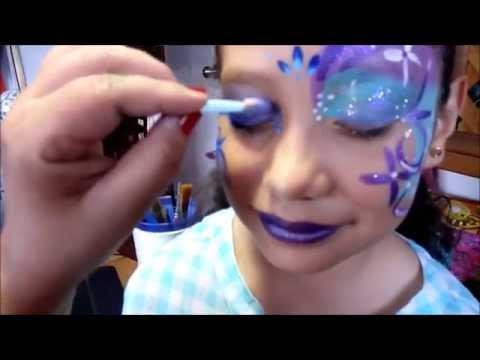 Maquillaje Pintacaritas Princesas Gabi Carita Feliz