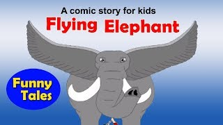 Heavenly Flying Elephant - Panchatantra Tales in English | Stories For Kids In English | Kids Story