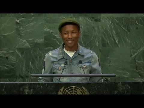 Pharrell Williams: International Day of Happiness