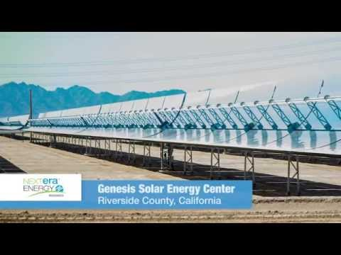 A shining achievement at the Genesis Solar Energy Center
