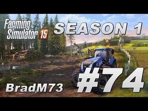 Farming Simulator 15 - Season 1 - Episode 74 - More fields, more planting!