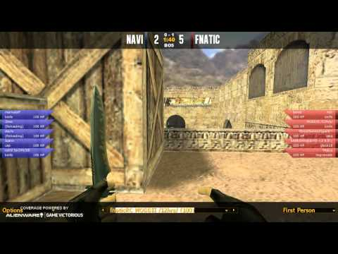 GameGune 2012 - Final - Fnatic vs. NaVi (de_dust2) Map 1
