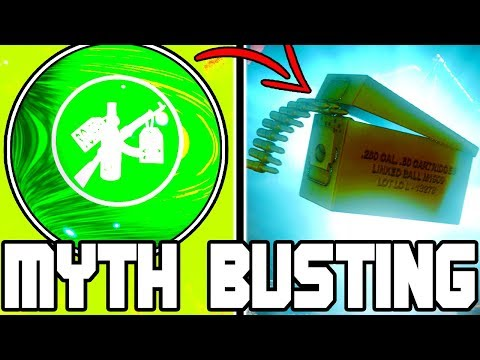 UNLIMITED BLUE MAX AMMO!!! | CALL OF DUTY ZOMBIES | MYTH BUSTING MONDAYS #109
