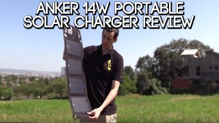 Anker 14W Portable Solar Charger Review