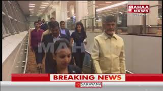 CM Chandrababu And Team Meets Pioneering Ventures Chairman To Invest In AP