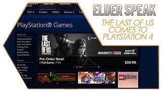 Elder Speak - The Last of Us Comes to PlayStation 4