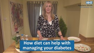 How diet can help with managing your Type 2 diabetes