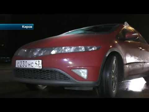 В Кирове автоинспекторы задержали пьяного коллегу за рулем
