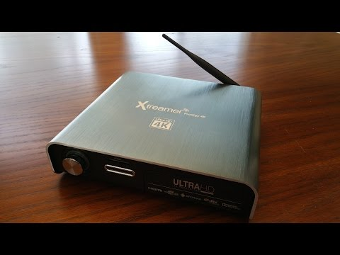 Xtreamer Prodigy 4k Ultra HD media player unboxing by Intellibeam.com