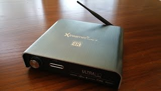Xtreamer Prodigy 4k Ultra HD media player unboxing by Intellibeam.com