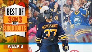 Best 3-on-3 OT and Shootout Moments from Week 6