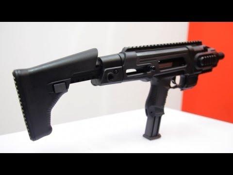 Maruzen Walther P99 Carbine Conversion Set Review (HD) - Redwolf Airsoft - RWTV