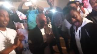 Mekelle football players Dancing