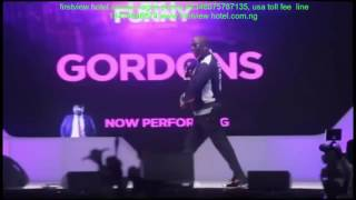 President Buhari is a Mutherfuckr - Gordons at Seyi Law Fast and Funny (July)