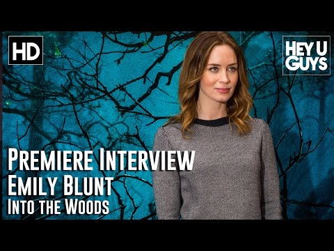 Emily Blunt Interview - Into the Woods Premiere