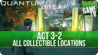 Quantum Break Act 3-2 Collectibles Locations (Monarch Gala)
