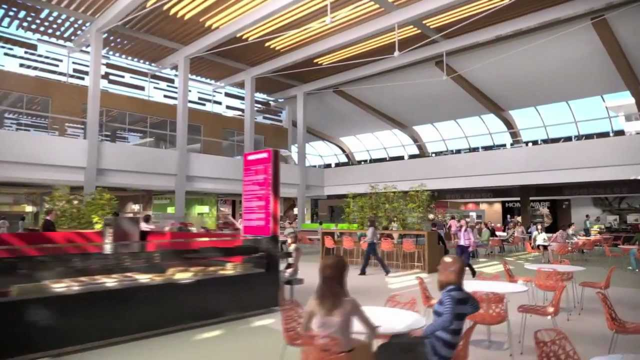 Oran park town shopping centre youtube for Park towne