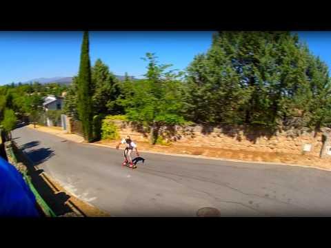 Jake Fast Freeriding in Spain