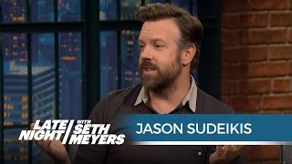 Jason Sudeikis Went Out in Public with a Half-Shaved Will Forte - Late Night with Seth Meyers
