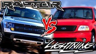 F150 SVT | Lightning VS Raptor ¿Pista o Lodo?