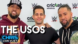 The Usos detail the Samoan wrestling family tree, advice from their dad Rikishi, the stinkface
