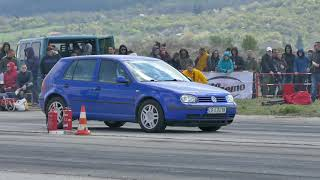 Golf4 1.9TDI ALH tuned to 143hp on the drag strip