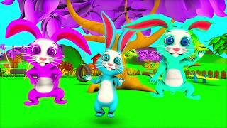 The Bunny Song |  Kindergarten Nursery Rhyme & Song for Kids by Little Treehouse S03E132