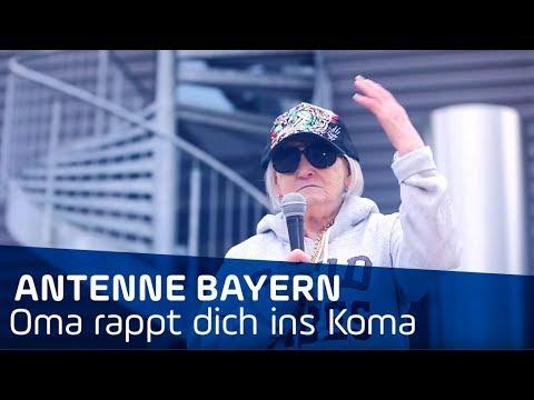 "Oma-Rap ANTENNE BAYERN ""Oma rappt dich ins Koma"" von Leikermoser"