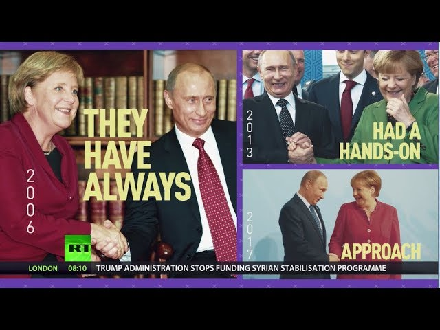 Putin meets Merkel Whatвs cooking?
