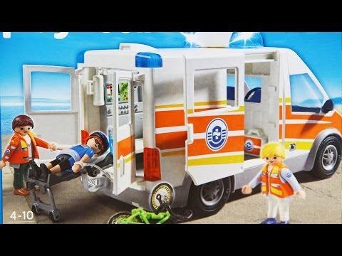 Ambulance with Siren Ambulans z Syreną 5541 Playmobil www.MegaDyskont.pl