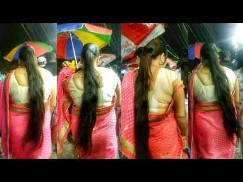 Hot and sexy  long hair lady in Guwahati city🔥🔥🔥 thumbnail