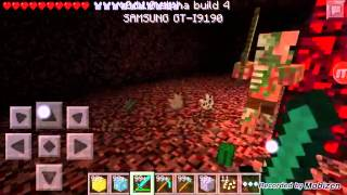 Minecraft pe nether e modsuz gidiş