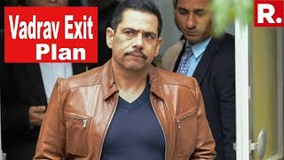 On The Day Of 2019 Elections Exit Polls, Robert Vadra Attempted To Leave India? | #VadraExitPlan