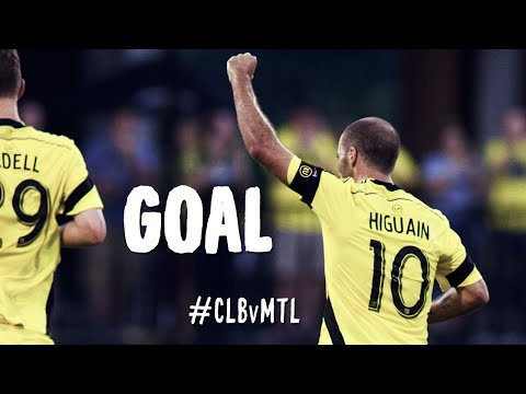 PK GOAL: Federico Higuain boots in a penalty kick | Columbus Crew vs. Montreal Impact