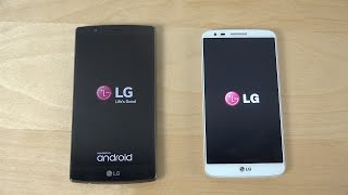 LG G4 vs. LG G2 Official Android 5.0 Lollipop - Which Is Faster? (4K)