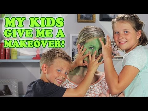 My Kids Give Me a Makeover!!