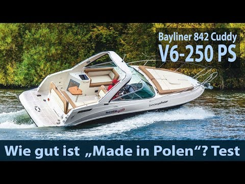 Bayliner 842 Cuddy | Test | Fahrbericht