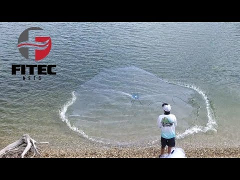 How To Throw A Cast Net - The Best And Easiest Method - Step by Step Tutorial