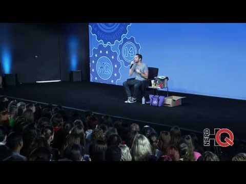 A Conversation & Swag Auction with Zachary Levi live from #NerdHQ 2014