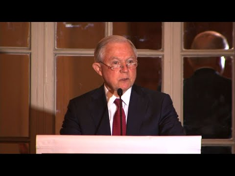 AG Sessions Defends Enforcing Immigration Laws