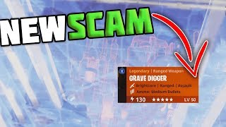 *NEW SCAM* THROUGH WALLS! Two Scammers Get Scammed For All Their Guns!! - Fortnite Save The World