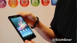 Sony Xperia Z demo