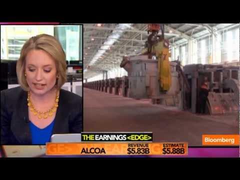 Alcoa 1Q Profit Exceeds Analysts' Estimates