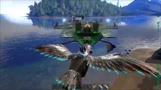 Alpha snake viyoutube ark survival evolved part 17 rex taming from a quetzal gunship malvernweather Choice Image